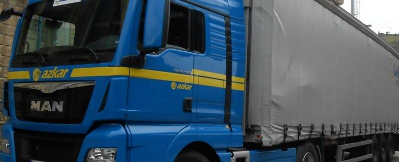 """UGT Aragón tilda de """"chantaje"""" la actitud de las patronales del transporte mercancias de Zaragoza en la negociación"""