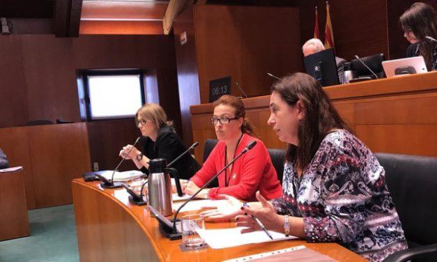 UGT, CCOO y OSTA reclaman en Las Cortes de Aragón el cierre del comercio en domingos y festivos