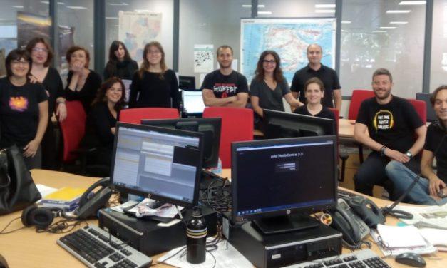 Los trabajadores de Chip Audiovisual afrontan su segundo #juevesnegrosATV