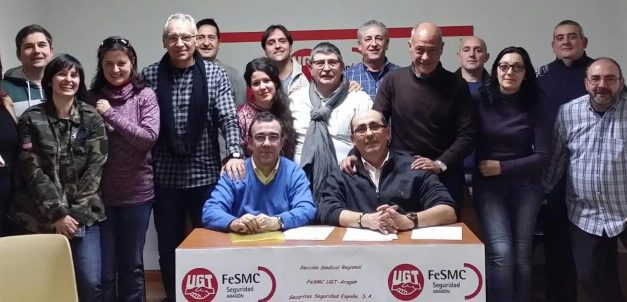 EL Sindicato Sectorial  de Seguridad de FESMC-UGT en Aragón VA A MAS, más participación, más cercanía, más eficacia