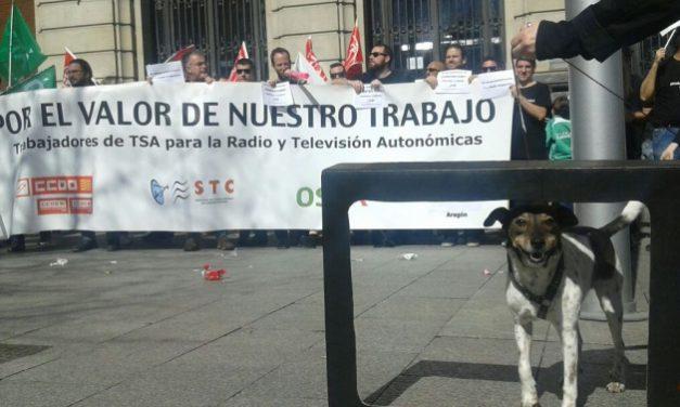 Los trabajadores de Telefónica Servicios Audiovisuales en la CARTV convocan huelga